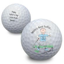 World's Best Golfer Golf Ball